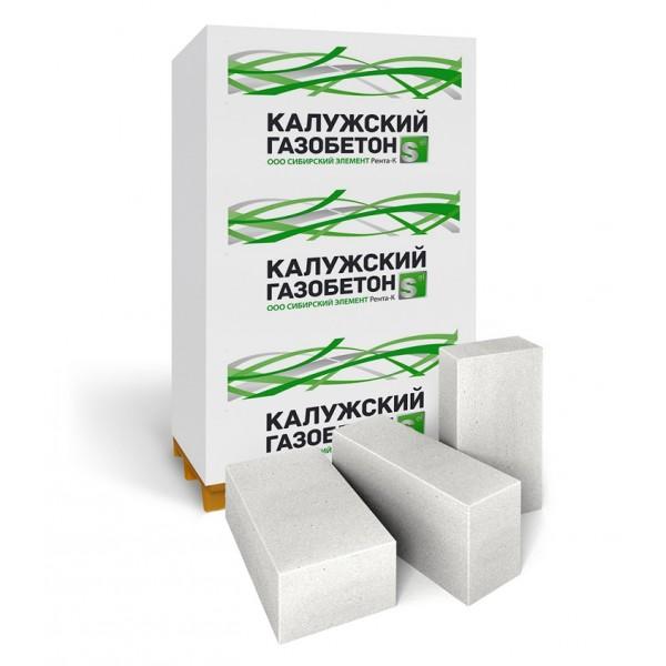 Строительный блок «Калужский газобетон» D500